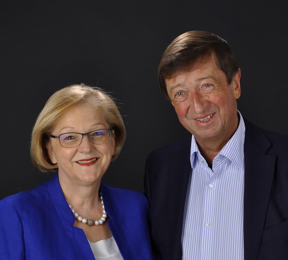 Rosemarie Miller-Weber und Hermann Weber, Stiftungsvorstand